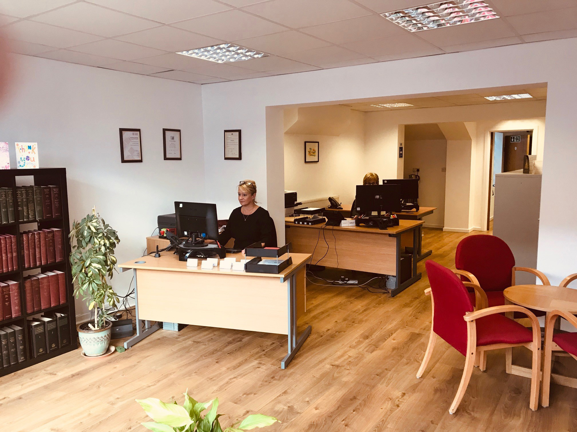 PSR Solicitors in Shotton - Office Interior
