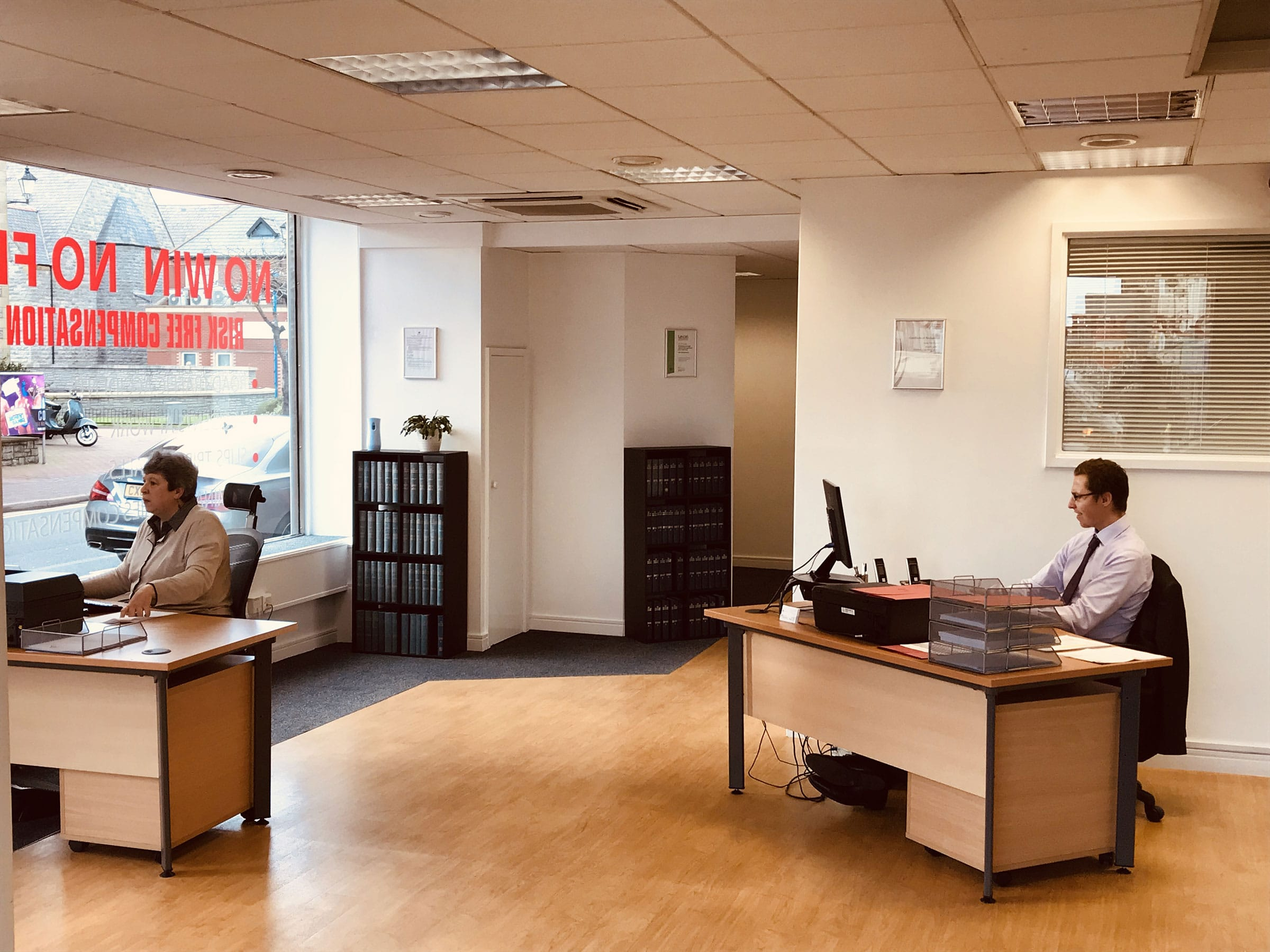 PSR Solicitors Rhyl Office - Interior