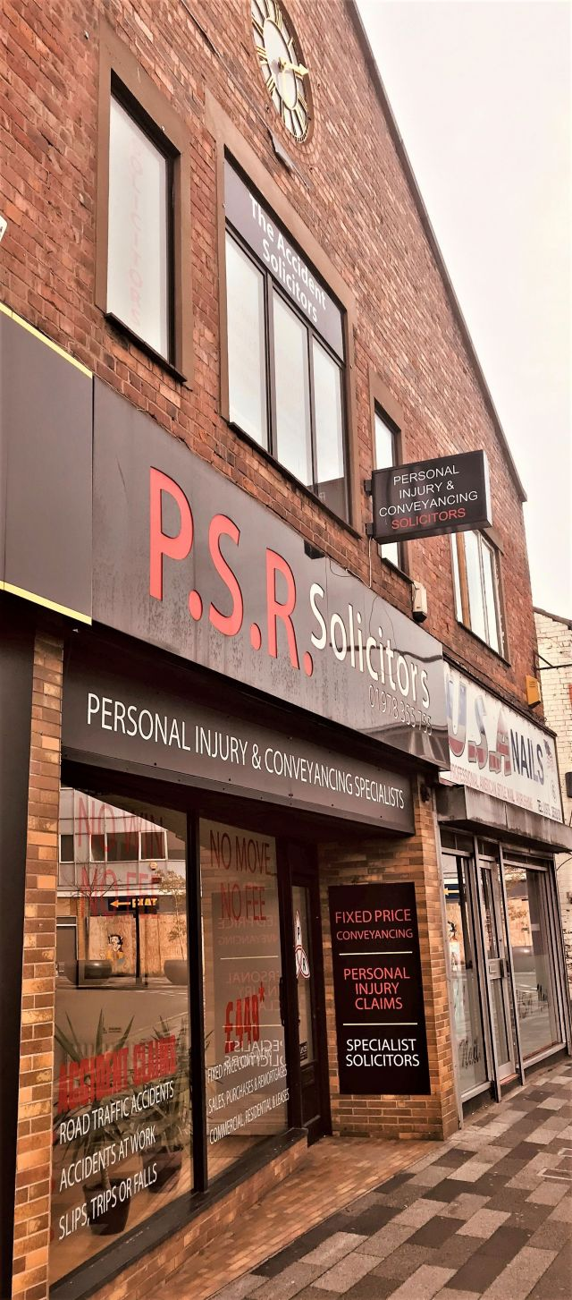 PSR Solicitors Wrexham Office